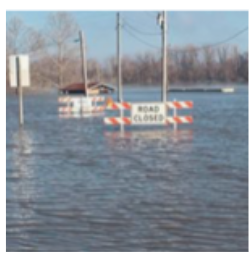 Flooding Doniphan County Kansas in 2019