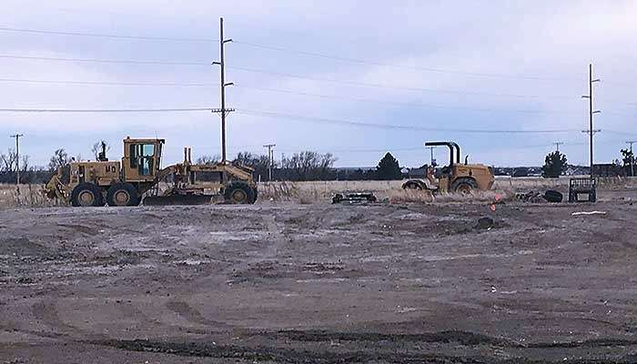 Dirt work has begun on the site of a new Avid hotel north of I-70 and west of Old Chicago in Hays. A Community Improvement District was approved for the hotel Thursday night.