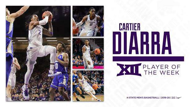 Diarra named Big 12 Player of the Week