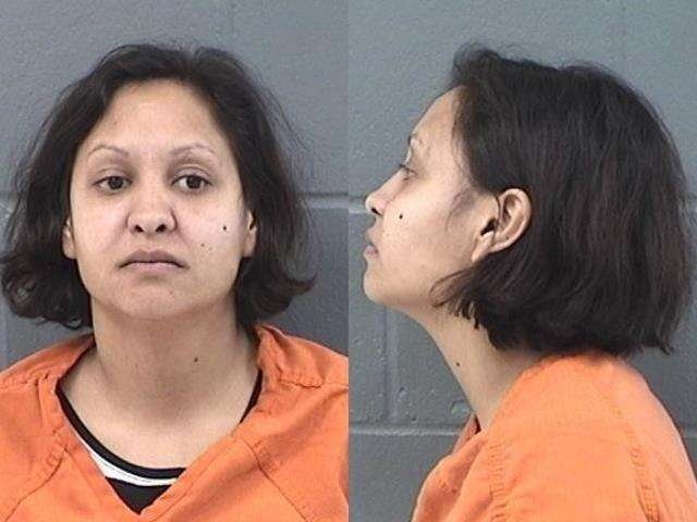Faith Griffin, Aggravated battery, Criminal damage to property, Aggravated assault, Arrested 1/12