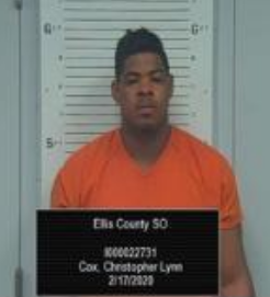 Cox photo Ellis County Sheriff