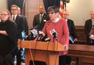 Governor Laura Kelly on Friday address the potential impact of the novel coronavirus on Kansas economy.