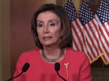 House Speaker Nancy Pelosi assailed Trump's idea and fluctuating response to the crisis.-image courtesy office of House Speaker