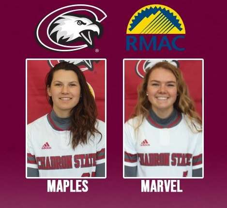 🥎 Two Eagles earn RMAC All-Academic honors