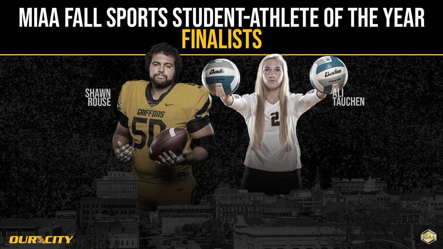 MWSU's Rouse, Tauchen named finalists for MIAA Fall Student-Athlete of the Year