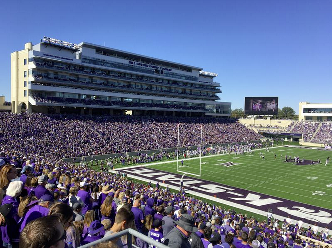 Kansas State's football team had several players test positive for COVID-19 this summer. Greg Echlin / KCUR 89.3 file photo