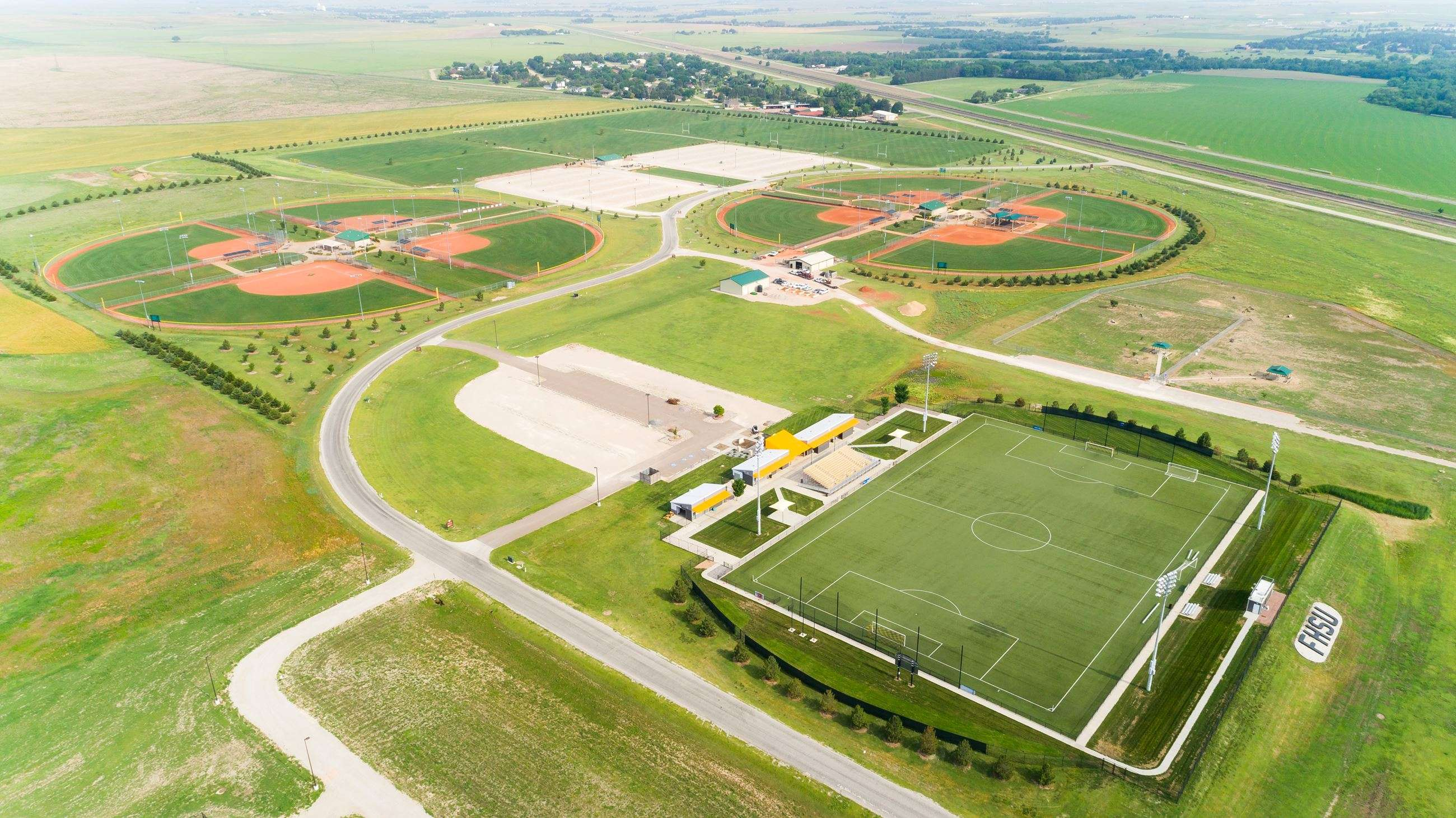 Bickle/Schmidt Sports Complex (Photo courtesy City of Hays)