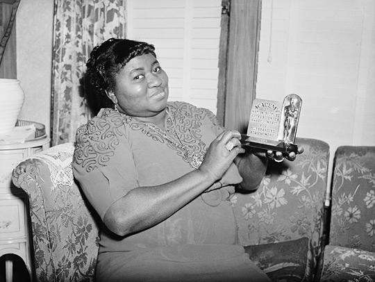 Hattie McDaniel was born in Wichita. She became a talented singer, songwriter, playwright, dancer and radio show host. She was the first Black person to win an Academy Award. Credit BETTMANN/CORBIS/NPR