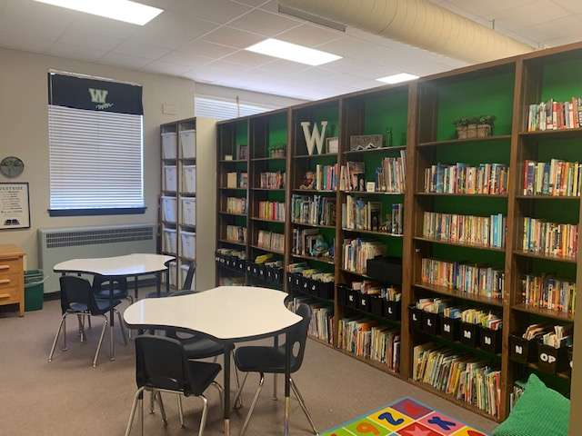 Revamped Westside library